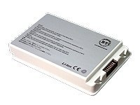 BTI Apple PowerBook G4 15 Aluminum Battery, MC-G4/A15, 5369472, Batteries - Notebook
