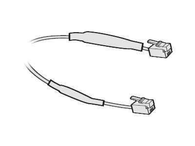 Plantronics Spare Flat Black Cord for CS50 Telephone Headset, 3ft, 66291-01, 7556079, Cables