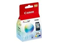 Canon Color CL-211 XL Ink Tank, 2975B001, 8907150, Ink Cartridges & Ink Refill Kits
