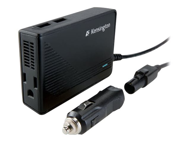Kensington Auto Air Power Inverter with USB Ports, K38037US, 9970222, Automobile/Airline Power Adapters