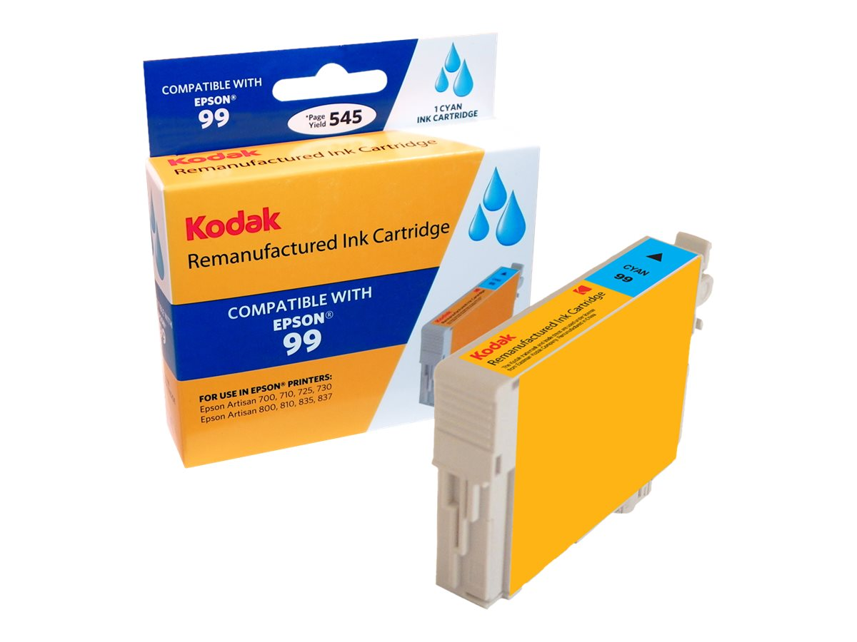 Kodak T099220 Cyan Ink Cartridge for Epson Artisan 700, 710 & 800, T099220-KD