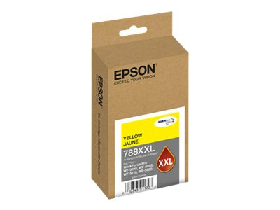 Epson Yellow T252 Durabrite Ultra XL Ink Cartridge, T788XXL420