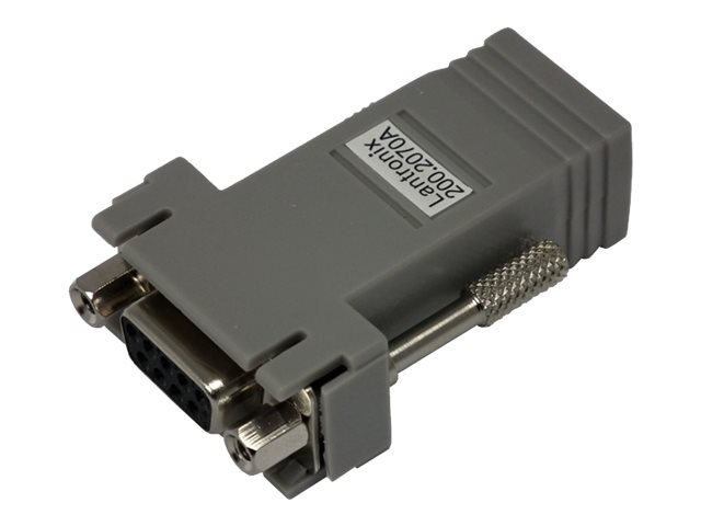 Lantronix RJ-45 to DB9 Female DCE Adapter for ETS SCSXX00 and SCSXX05, 200.2070A, 448543, Adapters & Port Converters