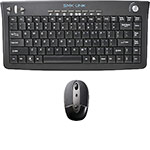 Interlink Electronics Rechargeable Wireless Keyboard and Laser Mouse