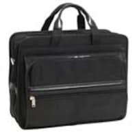 Paladin Stetson Nylon Double Compartment Laptop Case, Black, 56485, 12079431, Carrying Cases - Notebook