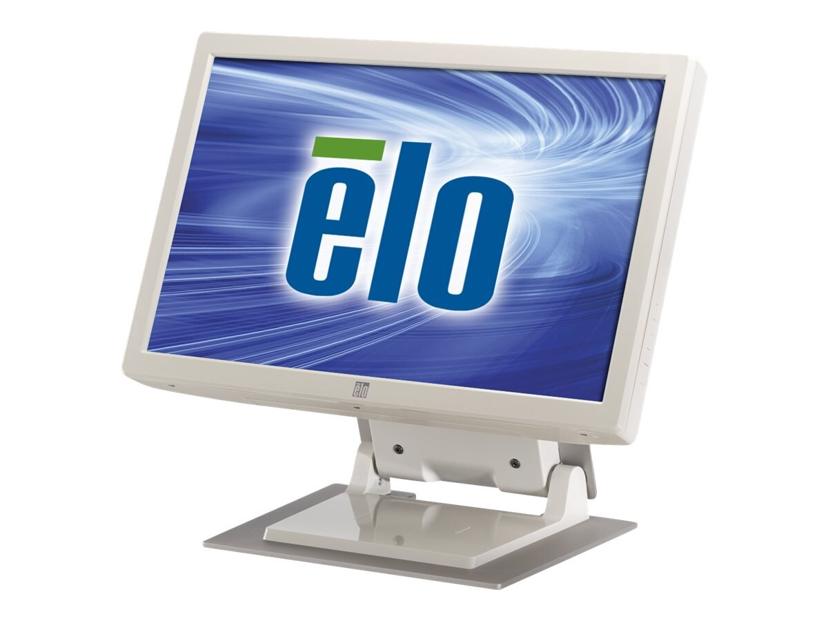 ELO Touch Solutions 1900L 19 LCD IntelliTouch Standard Bezel Serial USB I F Beige, E653938, 9791988, POS/Kiosk Systems