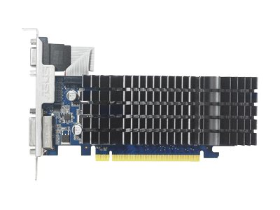 Asus NVIDIA GeForce 8400GS PCIe 2.0 Graphics Card, 1GB DDR3, 8400GS-SL-1GD3-L