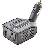 CyberPower Mobile Power Inverter, 12VDC Input, 120VAC 100W Output, USB Charger