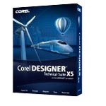 Corel DESIGNER Technical Suite X5 Upgrade Mini Box CDTSX5ENMBUG