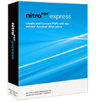 Corp. Nitro PDF Express 10-user + support (10 cases), NEXP-10A, 12282252, Software - File Sharing