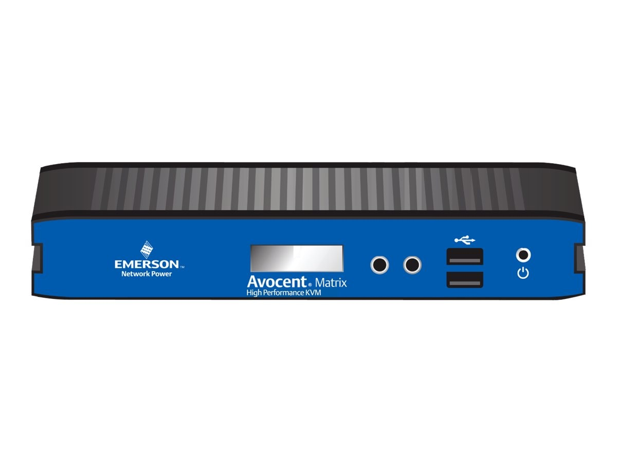 Avocent Matrix Receiver USB Single DVI-I Audio, MXR5110-001, 16298366, Network Extenders