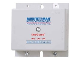 Minuteman LineGuard Data Surge Protector Cat6 Compatible for Punchdown Connector, MMS-CAT6-LAN, 11712628, Surge Suppressors