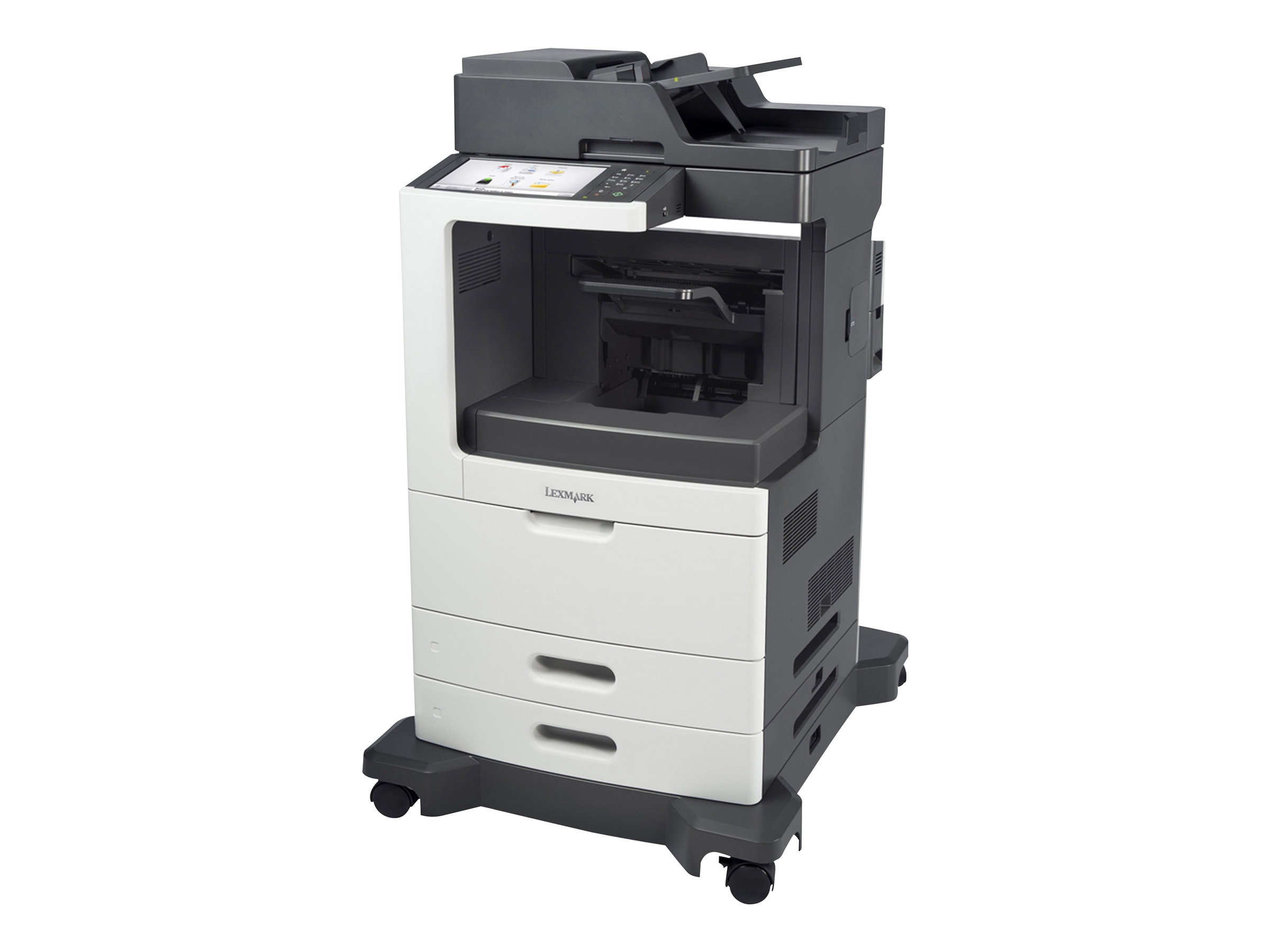 Lexmark MX810dfe Monochrome Laser Multifunction Printer, 24T7408, 14908538, MultiFunction - Laser (monochrome)