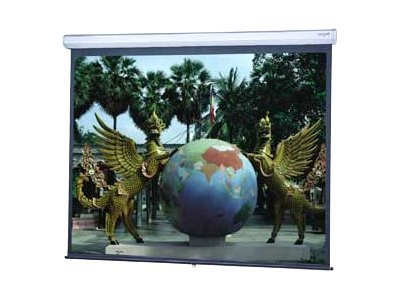 Da-Lite Model C Projection Screen with CSR, Matte White HC, 16:9, 133