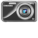 Samsung Camera Samsung PL120 Digital Camera, 14.2MP, Dual LCD, 5x