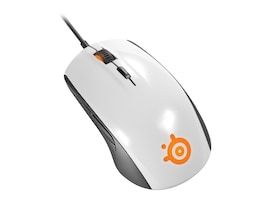 Steelseries Rival 100 Mouse, White, 62335, 30761249, Mice & Cursor Control Devices