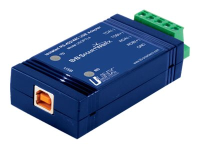 Quatech USB Inline Isolated Converter for RS-422 485, USOPTL4-LS