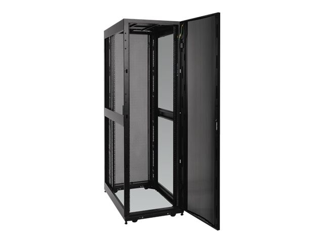 Tripp Lite SmartRack Premium Enclosure, Doors and Side Panels, 45U, Black, Instant Rebate - Save $100, SR45UB