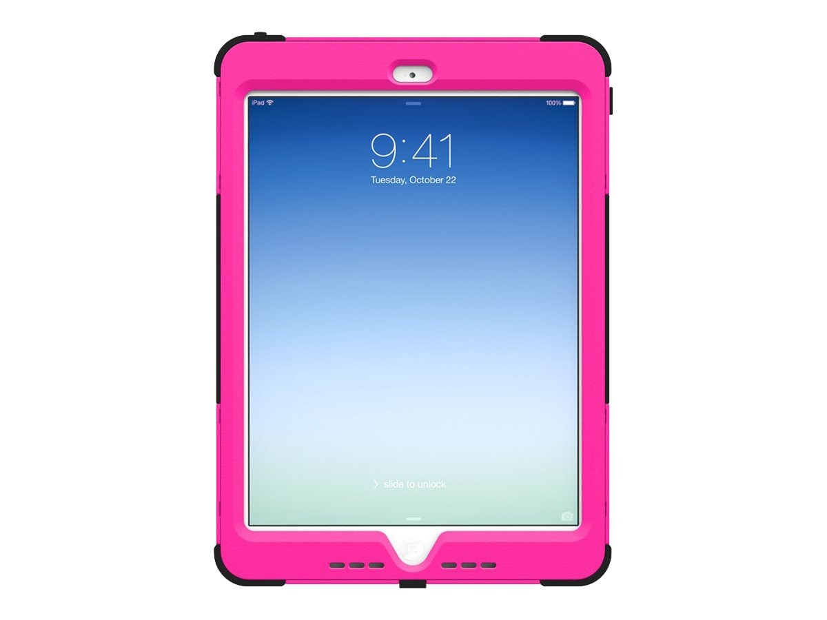 Trident Case Kraken AMS for Apple iPad Air, Pink, AMS-APL-IPAD5-PNK, 31225544, Carrying Cases - Tablets & eReaders