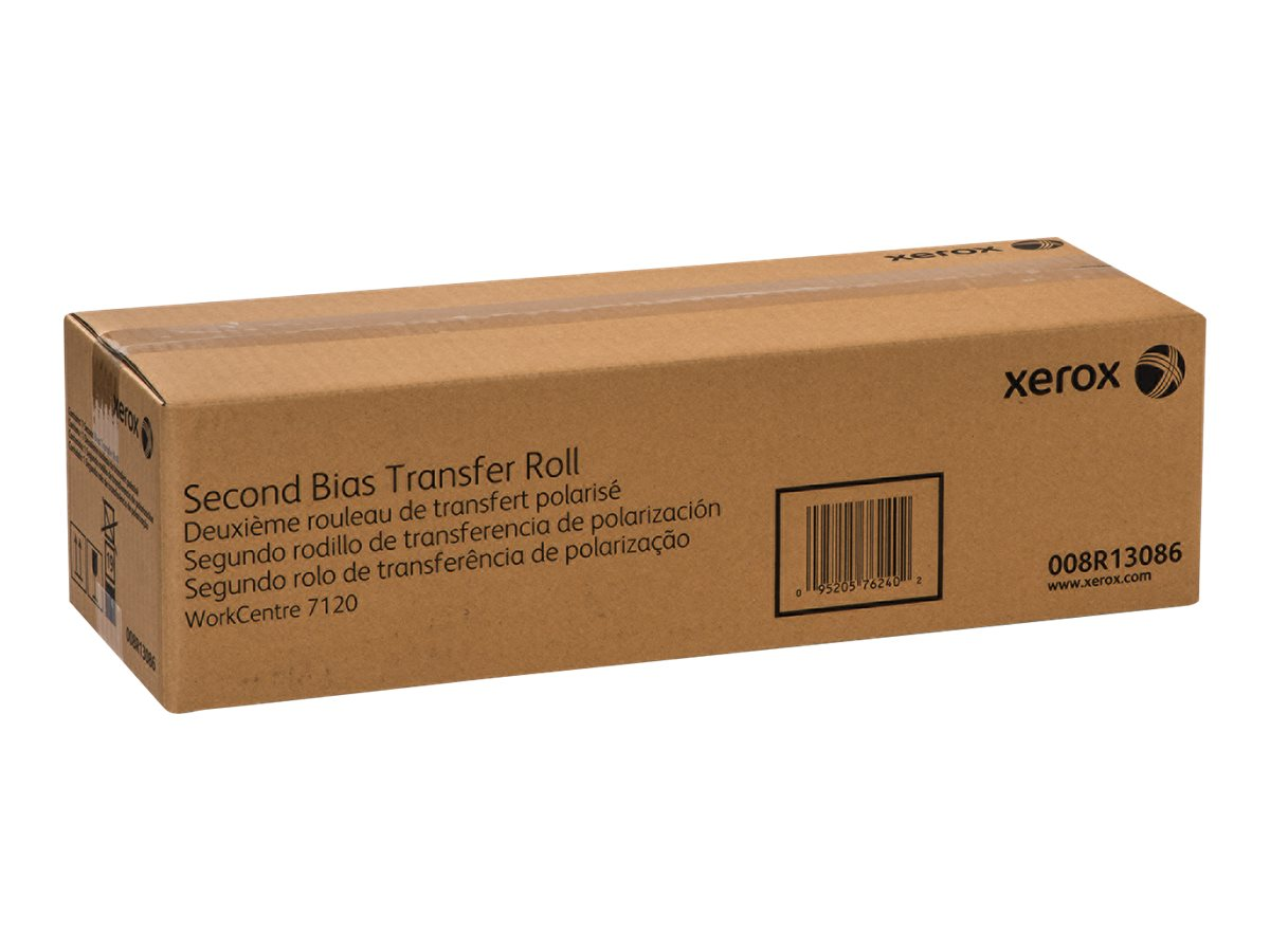 Xerox Second Bias Transfer Roll for WorkCentre 7120 & 7125 Series, 008R13086, 15225317, Printer Accessories