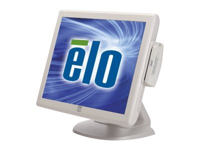 ELO Touch Solutions 1515L 15 LCD Monitor with AccuTouch Serial USB Dual Controller Beige, E290484, 9791697, POS/Kiosk Systems