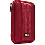 Case Logic Portable Hard Drive Case, Red QHDC-101RED