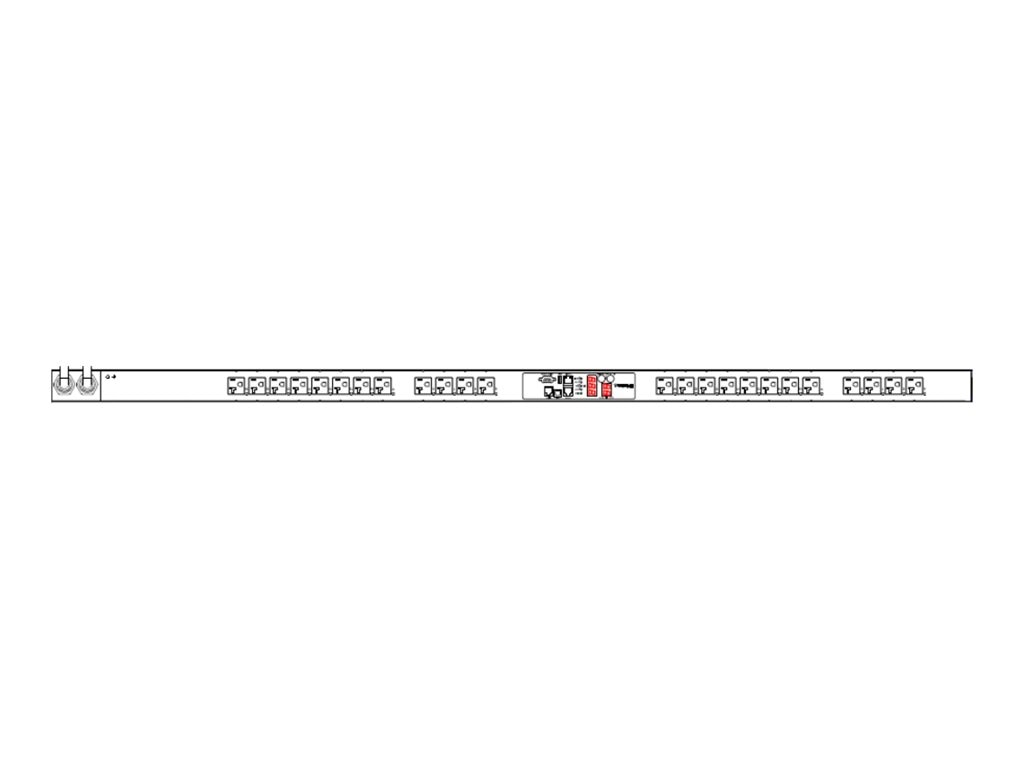Raritan PDU 3.8kVA 120V 16A 1-phase 0U (2) L5-20P Input, (24) 5-20R Outlets, PX2-5219X2, 18028124, Power Distribution Units