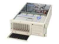 Supermicro Barebone SuperServer 7044H-32R 4U Tower, Xeon DP, 800MHz,760W RPS, 2PCIE, 3PCIX, GBE2, 8x SAS, Beige, SYS-7044H-32R, 6268201, Barebones Systems