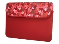 Mobile Edge 10 Camo Netbook Sleeve, Red, ME-SUMO66107, 11149935, Protective & Dust Covers