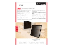 Scratch & Dent 3M 20-20.1 Widescreen LCD Privacy Filter, PF320W, 33158795, Glare Filters & Privacy Screens