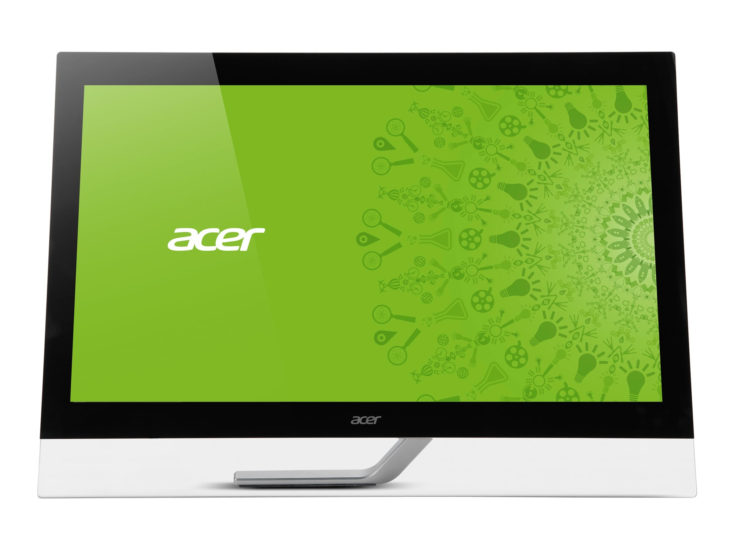 Acer 27 T272HL bmjjz Full HD Touchscreen Monitor, Black, UM.HT2AA.003, 16738368, Monitors - LED-LCD