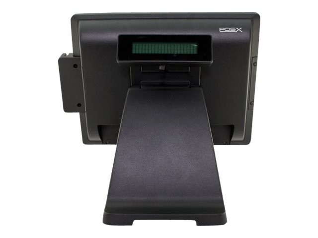 Pos-X EVO Integrated VFD Rear Disply Serial, EVO Touch PC & Monitor