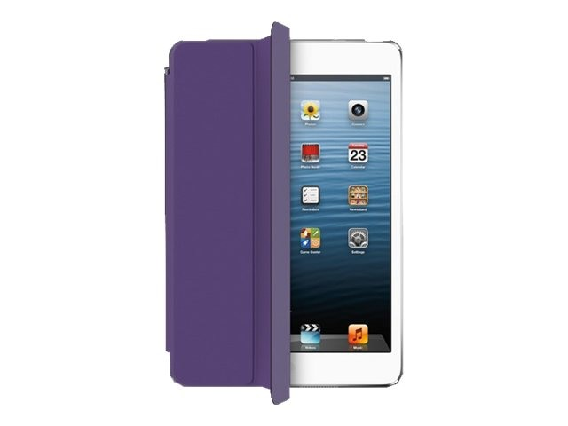 Aluratek Slim Color Smart Case for iPad mini, Purple Plum