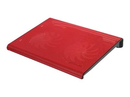 Aluratek USB Laptop Cooling Pad, Red, ACP01FR, 32902383, Cooling Systems/Fans