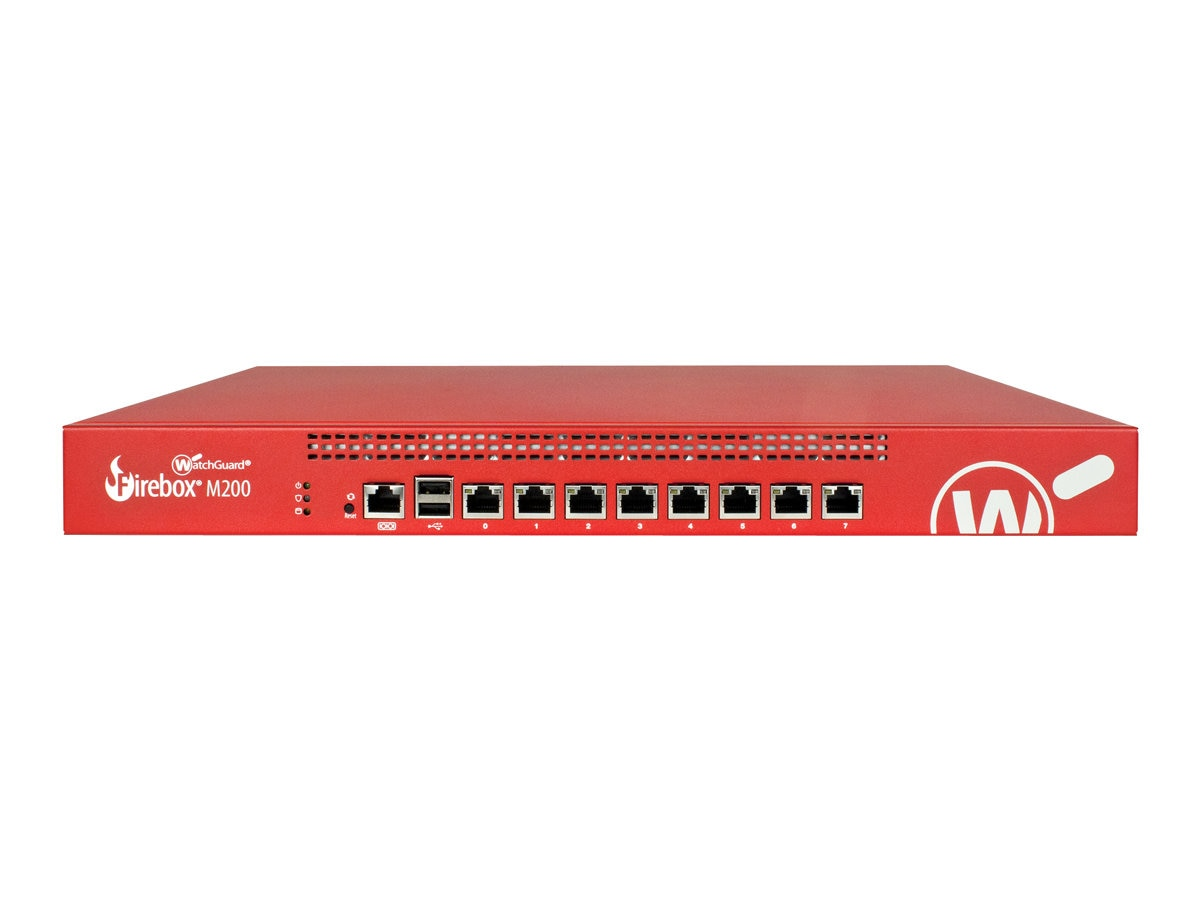 Watchguard Firebox M200 w 3-year Total Security Suite, WGM20643
