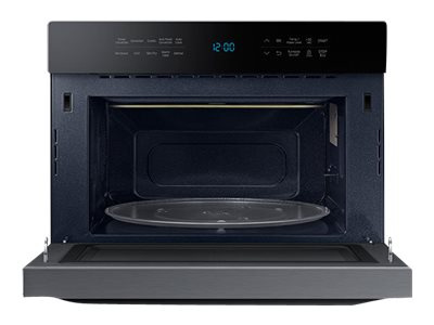 Samsung 1.2 cu. ft. Counter Top Convection Microwave with Power Convection and PowerGrill Duo, Black, MC12J8035CT/AA