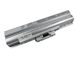 Arclyte Battery Performance-Lithium Li-Ion 11.1V 5200mAh 6-cell for Sony Vaio, Silver, N00458, 16204358, Batteries - Notebook