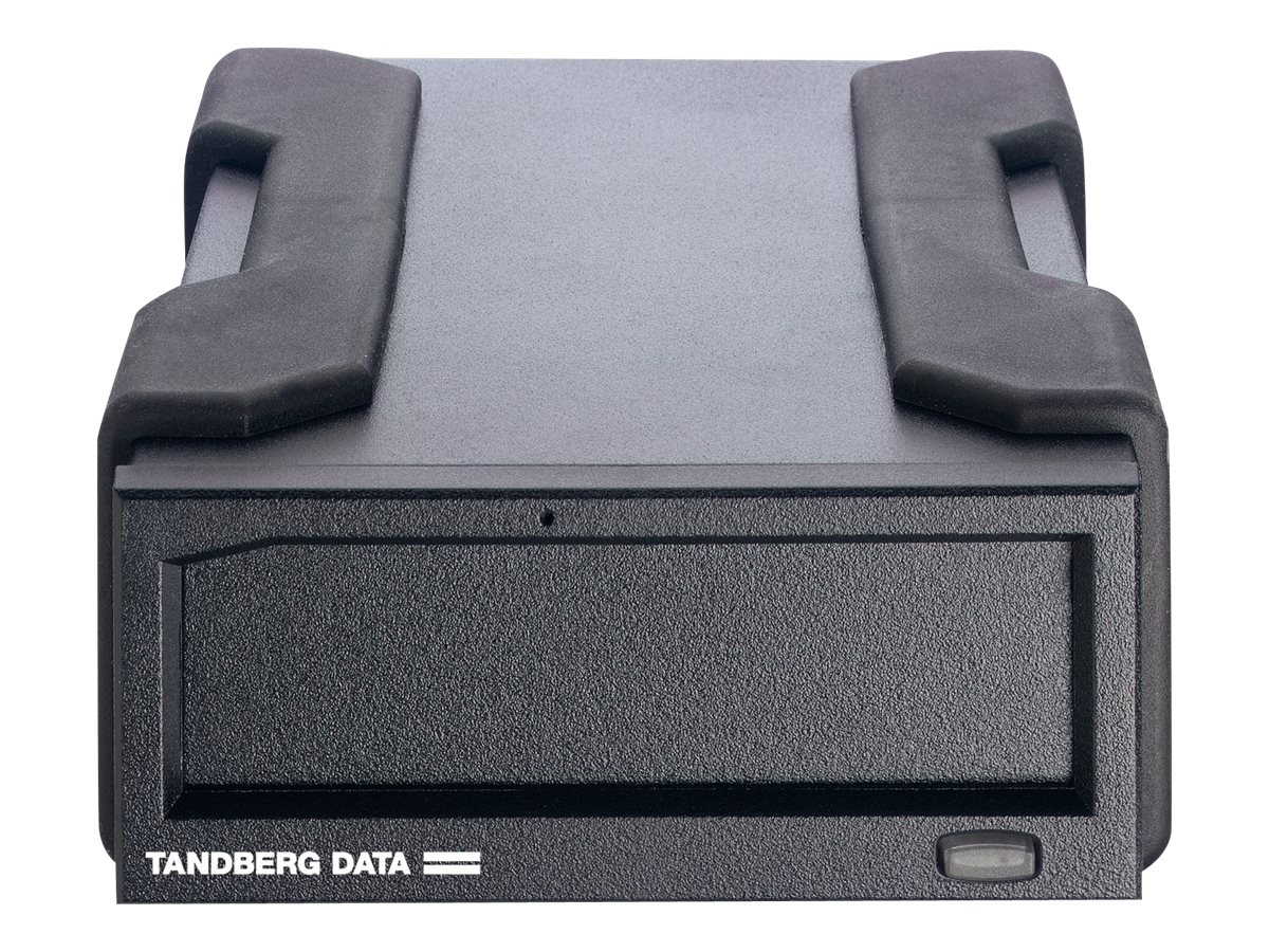 Tandberg Data RDX QuickStor USB 3.0 External Drive - Black w  AccuGuard Backup Software