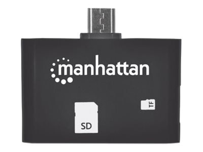 Manhattan imPORT SD 24-in-1 Card Reader Writer