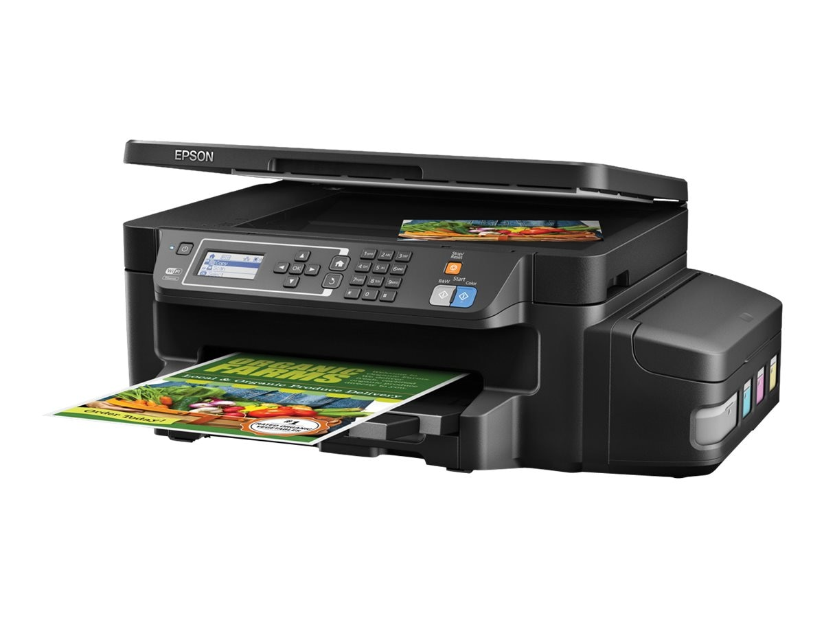 Epson Expression ET-3600 EcoTank All-in-One Supertank Printer, C11CF73201