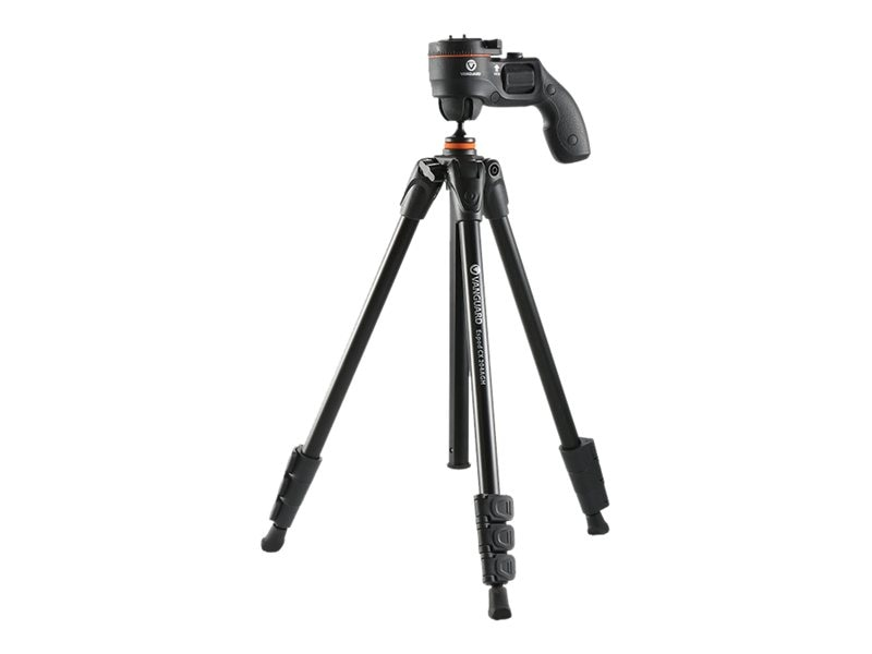 Vanguard 61 Pistol-Grip Head 3-Leg Folding Tripod, Aluminum, ESPOD CX 204AGH, 18661448, Stands & Mounts - AV