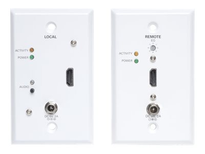 Tripp Lite HDMI over Cat5 Cat6 Extender, Wallplate Transmitter and Receiver Kit, 1080p at 60Hz