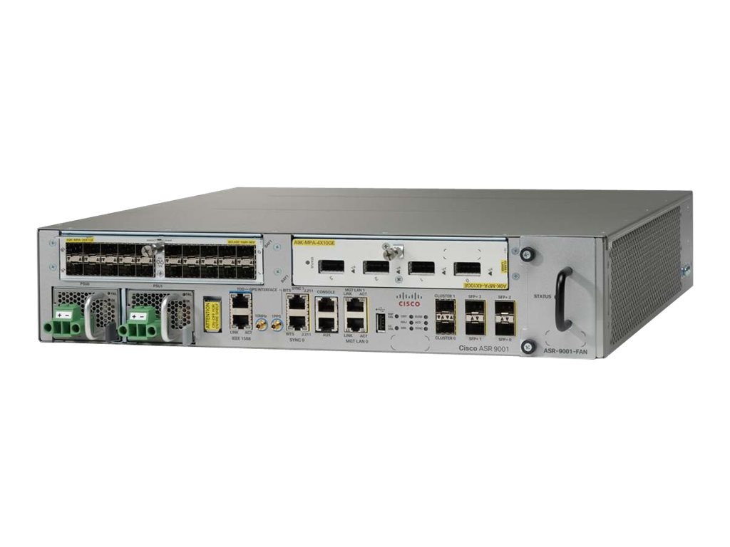 Refurb. Cisco Refurb. ASR 9001 PERP Chassus w 60G, Cisco Warranty