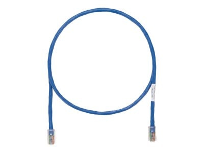 Panduit CAT5E UTP Copper Patch Cable, Blue, 50ft