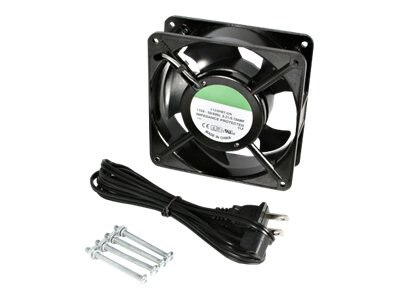 StarTech.com 12cm AC Fan Kit for Server Rack Cabinet