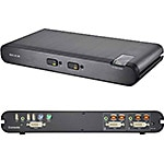 Belkin OmniView Secure 2-Port DVI-I KVM with Audio, CAC Support
