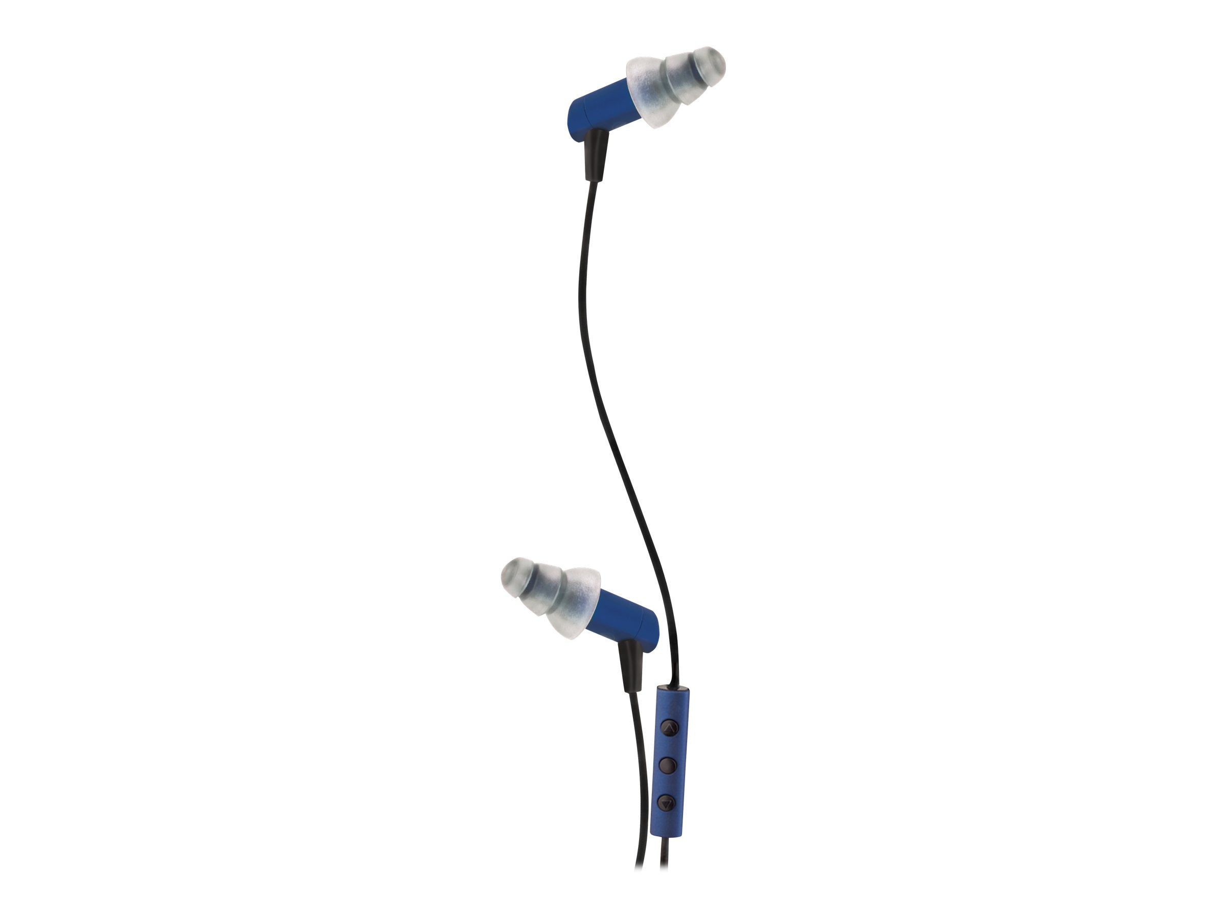 Etymotic Research hf3 Stereo Headset with iPhone iPod Controls, Cobalt, ER23-HF3-COBALT-I, 13846865, Headphones