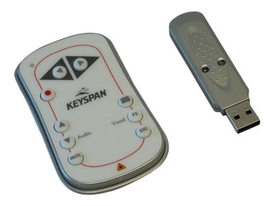 Keyspan Easy Presenter, PR-EZ1, 60ft range, laser, PR-EZ1, 6048259, Remote Controls - Presentation