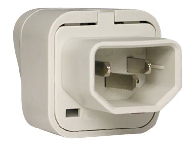 Tripp Lite UniPlugInt IEC-320 C13 Outlet Adapter for International Plugs - France Germany UK, UNIPLUGINT, 4923304, AC Power Adapters (external)