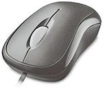 Microsoft Basic Optical Mouse for Business PS2 USB, English
